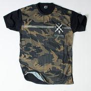 Ryll サブリメーション プリントTシャツ カモフラージュ