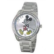 正規代理店商品★ディズニー  ミッキー★クリスタルシリーズ腕時計★日本製ムーブメント使用★T583S