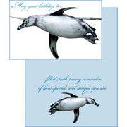 Stockwell Greetings グリーティングカード バースデー ペンギン