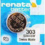 RENATA 303 SR44SW 0%Mercury