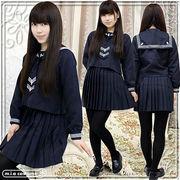 ■送料無料■白●合学園高等学校 冬服  サイズ:M/BIG