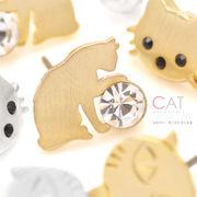 ▼MAGGIO▼【キャットモチーフ☆】いろんなにゃんこが勢ぞろい♪ ネコ(猫)ピアス
