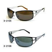 メタルフレームサングラス(UVカット)X-2105X-2106【EX】