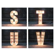 SIGN WITH LIGHT 「S~V」