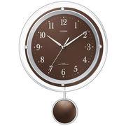 【アウトレット品】シチズン電波掛時計「パルミューズスイング」8MX401-006