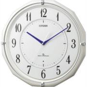 【アウトレット品】シチズン電波掛時計「スリーウェイブM822」4MY822-003