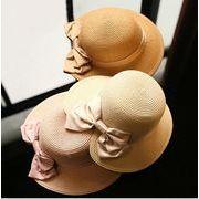 麦わら帽子 UVカット帽子  レディース 紫外線カット 紫外線対策 帽子