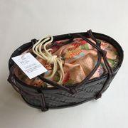 【スポット商品】高級竹カゴ巾着  入荷しました。数量限定品です。