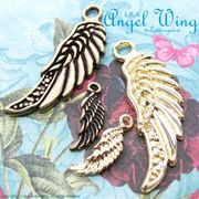 "★L&A Original Parts★Gold&金古美★天使の翼チャーム♪163 ""Angel Wing"""