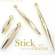 """★新掲載★L&A Original Parts★K16GP★美しきゴールド★スティックチャーム♪178 """"Gold Stick"""""""