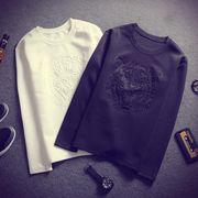 Tシャツ♪ブラック/ホワイト/ネイビー3色展開◆【春夏新作】