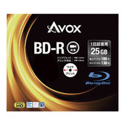(レジャー)(AV機器)アボックス 録画用BD-R 25GB スリム10P BR130RAPW10A