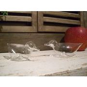 【値下げ】【処分!!】【SALE】カントリーテイストの可愛いガラスのスパイスボトル(2個セット)