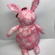 【桜柄】ウサギ エコバッグ入荷しました。ピンク (限定品)収納型 ノベルティ