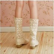 レディース靴/ブーツサンダル/ミドルブーツ/シューズ/ウェッジソールブーツ/春秋ブーツ/サイズ豊富/