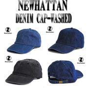 NEWHATTAN COTTON DENIM CAP-WASHED  13385