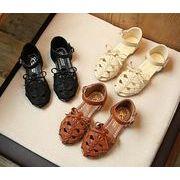 【子供靴】★可愛いデザインの子供靴&サンダル★柔軟なスリッパ★女の子★3色★サイズ26-35