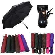【超軽量】 自動開閉折りたたみ傘 /傘 カサ 折りたたみ ワンタッチ 自動開閉