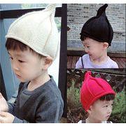 秋冬新しいスタイル★ニット保温帽子★キッズ /ベビーファッション★キッズ男女帽子