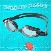 【売切御免】タフなボティ!100%UVカット!水泳・ジム・フィットネスに最適!スイミングゴーグル