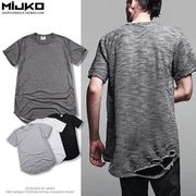 メンズ Tシャツ 半袖 クルーネック 無地 トップス コットン カジュアル シンプル 春 夏 全4色