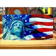ライセンスプレート 自由の女神像