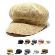 人気商品★草編み帽子★★新品★帽子★帽子★キャップ★トッパー★5色