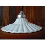 【SALE】 Vintageハンギングランプ 1灯 ホワイト