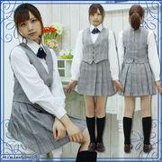■送料無料■大妻中野高等学校 旧中間服 サイズ:M/BIG