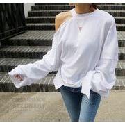 2017♪海外輸出向け☆品質自信あり カジュアル 長袖 Tシャツ  全3色 7aug-zae-627