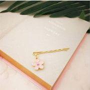 ★秋冬新作 ★かわいい ヘアピン ヘアアクセサリー 花 パイナップル 猫 桜