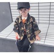 新作アバレル★子供コート★子供アウター★コート★ダスターコート★迷彩