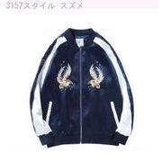 秋風ジャケット コート メンズ ulzzang 原宿ストリート ファッション刺繍横須賀カ