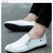2017新しい夏の豆靴メンズカジュアル怠惰な別ペダル靴靴通気性ジョーカー韓国男性の靴しま-続く(4)