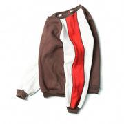 秋の日本色混合ラウンド ネック セーター メンズ韓国人留学生恋人ストリートファッション若
