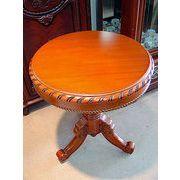 天然木ティーテーブル:無地