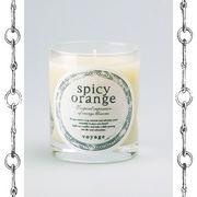 【新パッケージ】voyage ヴォヤージュ アロマキャンドル (マッチ付) スパイシーオレンジ (spicy orange)
