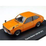 KBモデル(イクソ) トヨタ スターレット 1200SR 1973 オレンジ