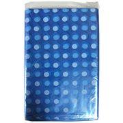 水玉ポリ風呂敷ブルー 70×70 10P