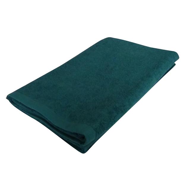 1300匁バスタオル:グリーン(全8色)【90x150cm】【無地】【業務用タオル】