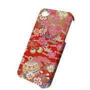 iPhone デコジャケット 和柄 花てまり アイフォーンケース ★i Phone