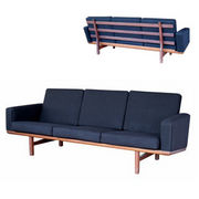 …wegner black sofa