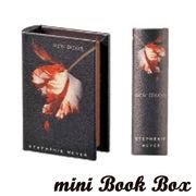 Book Box マグネット開閉式 ミニ ブック型ボックス ニュームーン (ブックボックス)