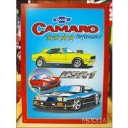 アメリカンブリキ看板 Chevy/シボレー Camaro/カマロ