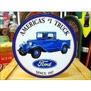 アメリカンブリキ看板 フォードトラック
