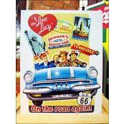 アメリカンブリキ看板 I Love Lucy-Lucy on the Road