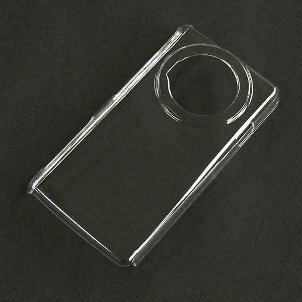 【P-02D/PC】ドコモ LUMIX Phone (ルミックスフォン) クリア(透明色)ハードタイプPC素材