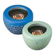 和室に似合う風流暖房!★即暖ハロゲンヒーター 火鉢