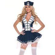 【即納】 セーラーコスプレ婦人警官さんのコスプレ制服クリスマスハロウィンSEXY