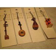 手作り 伝統の楽器ストラップ 中国 日本